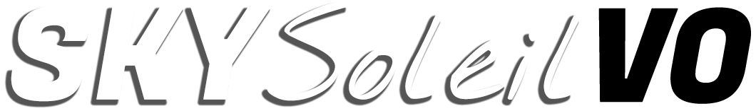 Voice over artist sky soleil logo